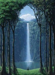 Waterfall with Ionized Water | Holistic Aging