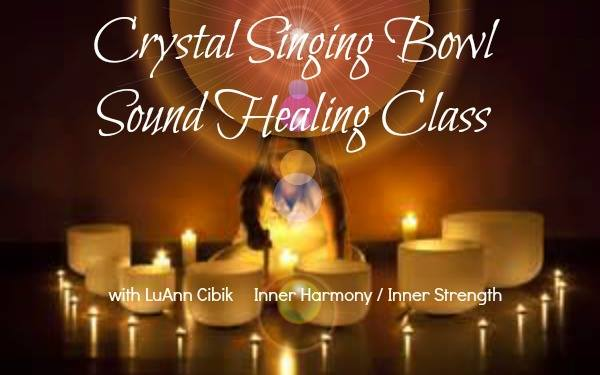 Crystal Singing Bowls Sound Healing Class | Holistic Aging