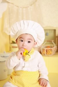 family-baby-cook